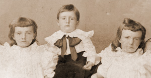 Nellie, Thos., Catherine Flanagan